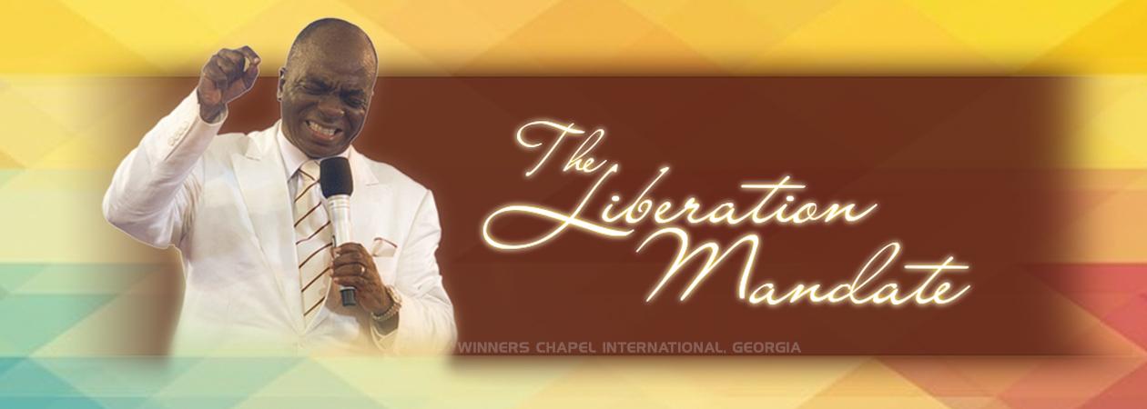 libration mandate Bishop David Oyedepo